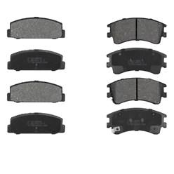 Bremsbelägsatz 8-Teilig vorne + hinten Mazda