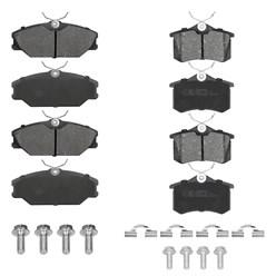 Bremsbeläge Bremsbelagsatz Bremsklötze Beläge Hinten und Vorne Renault