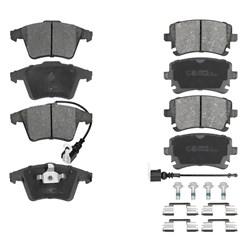 Bremsbeläge vorne und hinten VW