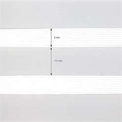 Doppelrollo hellgrau, 100x150 cm, Klemmfix ohne Bohren