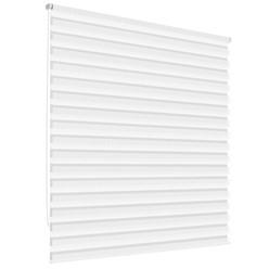 Doppelrollo Weiß, 45x150 cm, inkl. Befestigungsmaterial