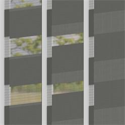 Doppelrollo dunkelgrau, 100x150 cm, Klemmfix ohne Bohren