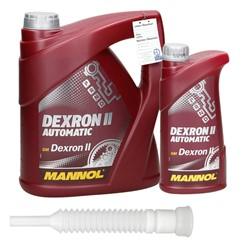 4 + 1L Liter Dexron II Automatik + Tube