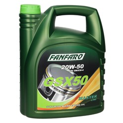 Fanfaro GSX50 20W-50 5 L 3 Stk