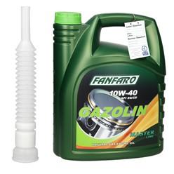 Fanfaro Gazolin mit Auslaufschlauch 10W40 5 L
