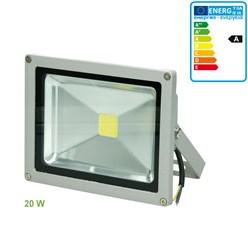 LED Flutlicht Strahler Außen 20W Kaltweiß 6000K Wasserdicht IP65