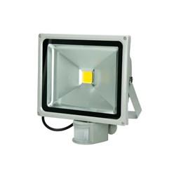 LED Flutlichtstrahler 30 Watt warmweiß mit Bewegungsmelder