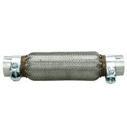 Flexrohr Edelstahl 61x250 mm mit Schellen