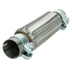 Flexrohr Edelstahl 60 x 280 mm mit Schellen