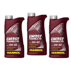 Mannol Formula PD 5W-40 1 Liter