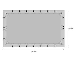 Dachschutzplane Wohnwagen / Wohnmobil 5x3m