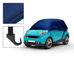 Halbgarage Abdeckung Autogarage für Smart, 214 x 146 x 55 cm, 100% Polyester, wasserabweisend