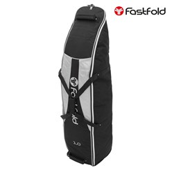 Fast Fold Golftasche schwarz/grau, 135x34x34 cm, aus Polyester