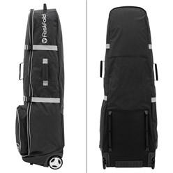Fast Fold Golftasche schwarz/grau, 137x44x40 cm, aus Polyester