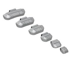 225 x Schlaggewichte Stahlfelgen Sortiment 5-30g