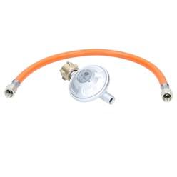 Gasdruckminderer inkl. Gasdruckschlauch 40 cm