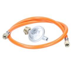 Gasdruckminderer inkl. Gasdruckschlauch 100 cm