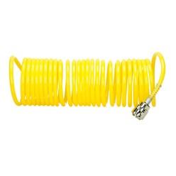 Druckluft-Spiralschlauch 7,5 m 2 Stück