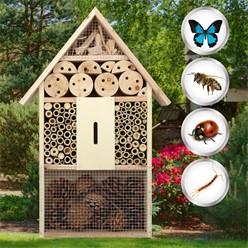 XXL-Insektenhotel aus Holz