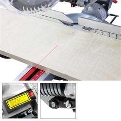 Kappsäge und Gehrungssäge mit Laser inkl.Sägeblatt