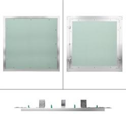 Revisionsklappe 60 x 60 cm Alu Rahmen