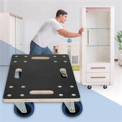 Möbelroller 35x50 cm Belastung bis 800 kg mit PP Räder für Umzug