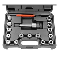 Spannzangenfutter Set MT3 ER32 M12 mit Schraubenschlüssel aus C45 Stahl