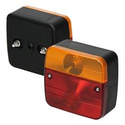 Anhängerbeleuchtung Set 12 teilig, mit E-Prüfzeichen, 13-poliger Stecker inkl. Leuchtmittel