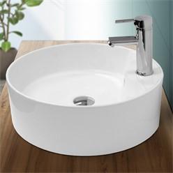 Wash basin 460 x 460 x 155 mm ceramic round white