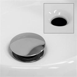 Waschbecken 400x350x155 mm, Weiß, aus Keramik