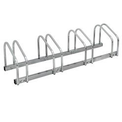 Fahrradständer für 4 Fahrräder 100 x 32 x 27 cm, aus verzinktem Stahl, inkl. Montagematerial