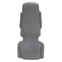 Gartenfigur Osterinsel Anthrazit 38x32x78 cm