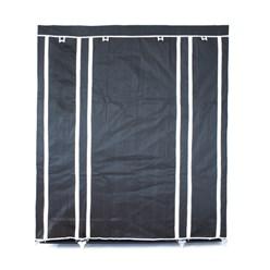 Faltschrank Schwarz 150 x 45 x 175 cm