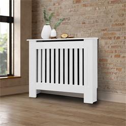 Heizungsverkleidung weiß Landhaus Stil 78x19x82cm