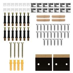 Heizkörperverkleidung Landhausstil 112x19x82 cm Schwarz aus MDF lackiert