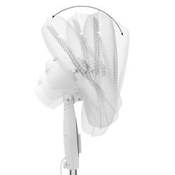 Standventilator 45W Weiß-Grau