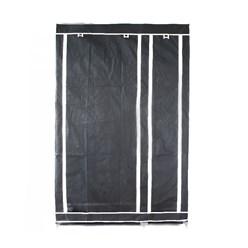 Faltschrank Schwarz 110 x 178 x 46 cm