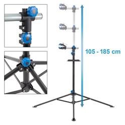 Fahrradmontageständer aus Stahl, 360° drehbar/höhenverstellbar, bis 50 kg