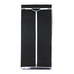 Faltschrank Schwarz 70 x 160 x 50 cm