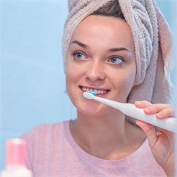 Elektrische Zahnbürste Weiß