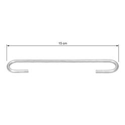 10er Set Gabionen Distanzhalter, 15 cm, aus verzinkter Stahl