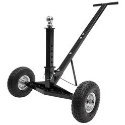 Rangierhilfe für Anhänger und Wohnwagen, bis 272 kg, höhenverstellbare Kupplungkugel, mit gummierter Handgriff aus Stahl