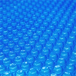 Pool Solarfolie blau, Ø 3,6 m, 140µm, aus PE-Folie mit Luftkammern