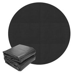 Pool Solarfolie schwarz, Ø 5 m, 140µm, aus PE-Folie mit Luftkammern