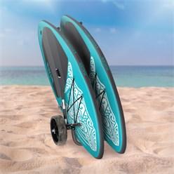 Transportwagen doppel, für Paddle Board und Surfboard, aus Aluminium