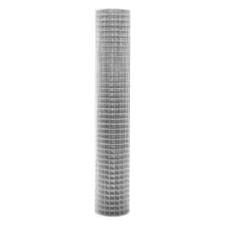 Volierendraht Maschendraht, aus verzinkter Stahl, Drahtstärke 0,75 mm, Maschenweite 19x19 mm, Länge 10 m