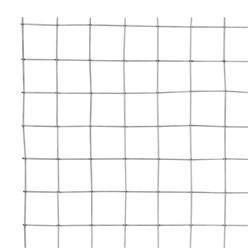 Volierendraht Maschendraht, aus verzinkter Stahl, Drahtstärke 1,05 mm, Maschenweite 25x25 mm, Länge 10 m