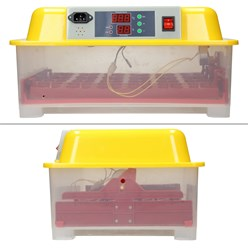 Vollautomatische Brutmaschine für 24 Hühnereier, 23x47x33 cm, 230V