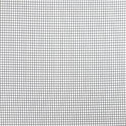 Fliegengitter grau, 1,5x10 m, aus hochwertigem Fiberglas