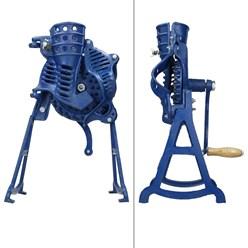 Mais Entkörnungsmaschine, mit Handkurbel und Standfuß, aus Gusseisen